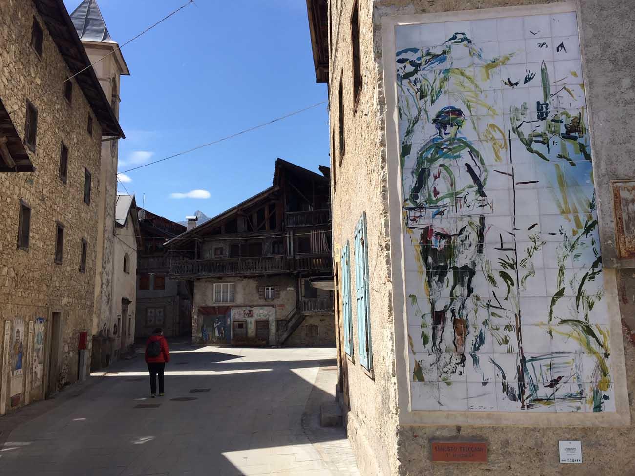 Cibiana murales