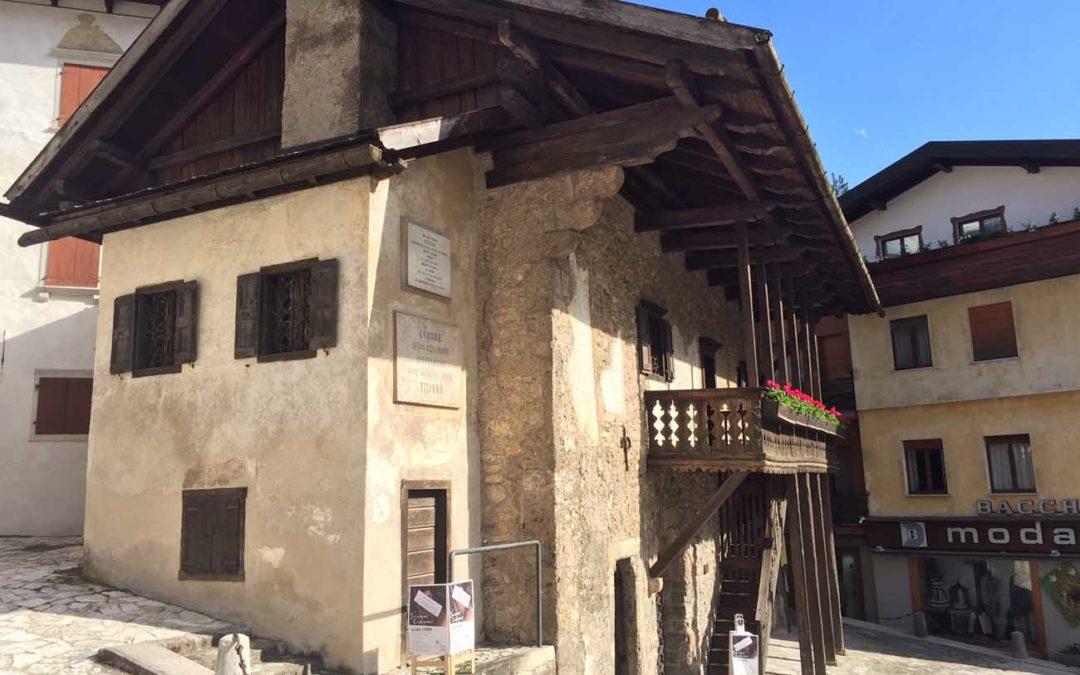 Pieve di Cadore Tiziano Vecellio house